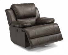 Simon Leather Power Gliding Recliner