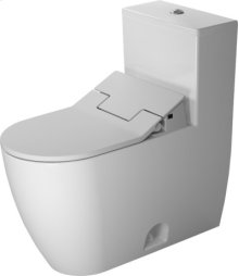 Me By Starck One-piece Toilet Duravit Rimless For Sensowash®