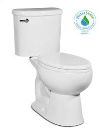 White PALERMO Two-Piece Toilet 1.28gpf, Elongated