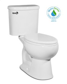 White PALERMO Two-Piece Toilet 1.28gpf, Elongated