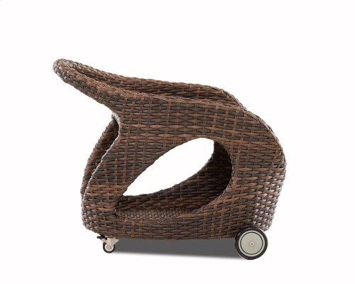 Mesa Serving Cart for Outdoor