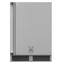 """24"""" Hestan Outdoor Dual Zone Refrigerator with Wine Storage (Solid Door) - GRWS Series"""