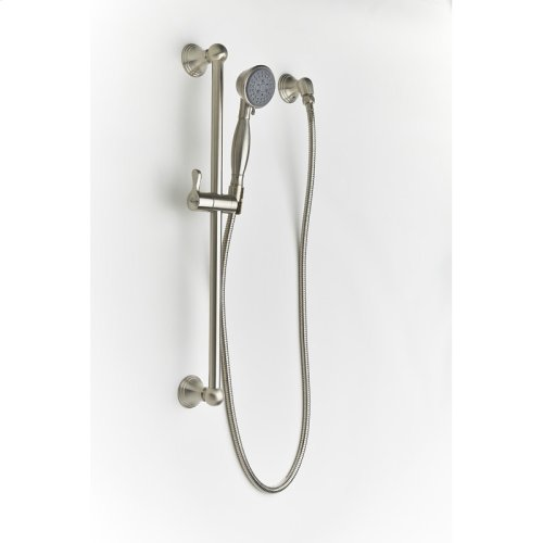 Slide Bar With Hand Shower Berea Series 11 Satin Nickel