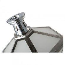 Layne Table Lamp/Metal+Glass/Nickle/11.8*11.8*31.5