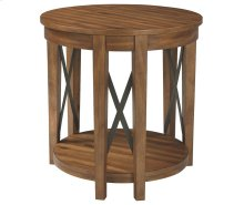 Round End Table