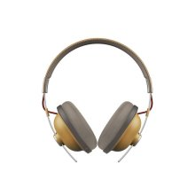 Retro Over-Ear Bluetooth®, 24-Hour Playback Headphones - Dijon - RP-HTX80B-C