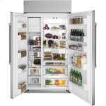 "Cafe Appliances 48"" Smart Built-In Side-by-Side Refrigerator"