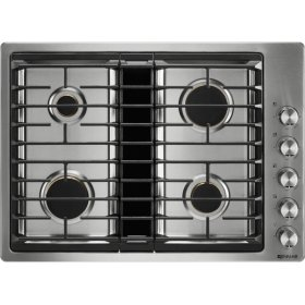 """30"""" JX3™ Gas Downdraft Cooktop, Stainless Steel"""