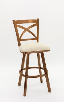 Edmonton Copper Stainless Steel Bar Stool