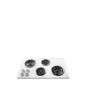 32'' Electric Cooktop - WHITE