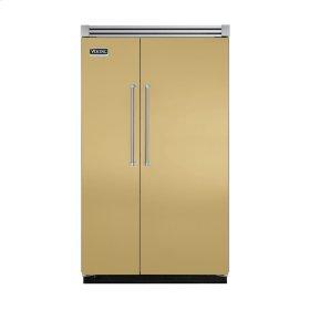 "Golden Mist 48"" Quiet Cool™ Side-by-Side Refrigerator/Freezer - VISB Tru-Flush™ (48"" wide)"