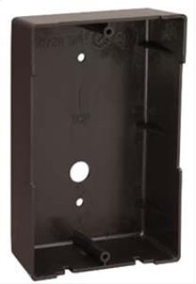 Door Speaker Surface Mount Frame - Black