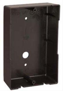 Door Speaker Surface Mount Frame - Black