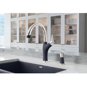 Blanco Artona With Pull-down Spray - Anthracite