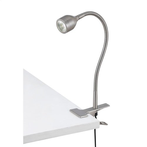 LED Gooseneck Clamp On Lamp