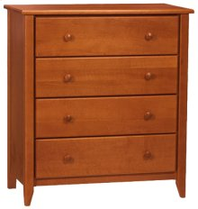 """Rossport 4 Drawer Chest 35"""" Wide"""