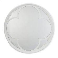 Lula Mirror In White Gloss