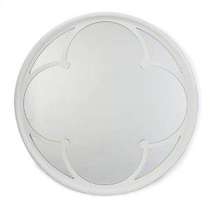 Regina Andrew Lula Mirror In White Gloss