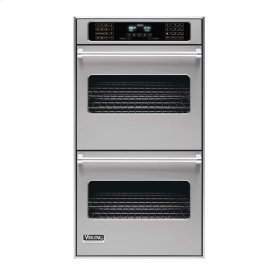 """Metallic Silver 27"""" Double Electric Touch Control Premiere Oven - VEDO (27"""" Wide Double Electric Touch Control Premiere Oven)"""