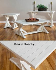 Topsail Plank Tables Seashell