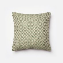 Green / Beige Pillow