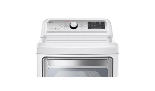 7.3 cu. ft. Ultra Large Capacity TurboSteam Electric Dryer with EasyLoad Door