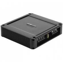 High-performance 2-channel mobile audio amplifier in Black