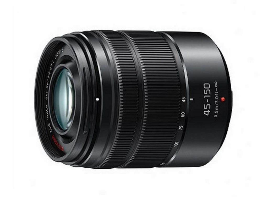 LUMIX G Vario Lens, 45-150mm, F4.0-5.6 ASPH., Micro Four Thirds, MEGA Optical I.S. - H-FS45150AK