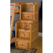 Wrangle Hill Amber Wash Stairway Chest Product Image