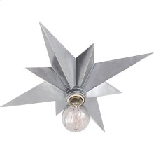 Visual Comfort SC4000AS Eric Cohler Star 1 Light 15 inch Antique Silver Flush Mount Ceiling Light