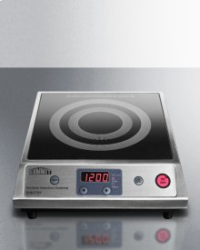 Portable Single Zone Induction Cooktop With Black Ceran Smooth-top Finish