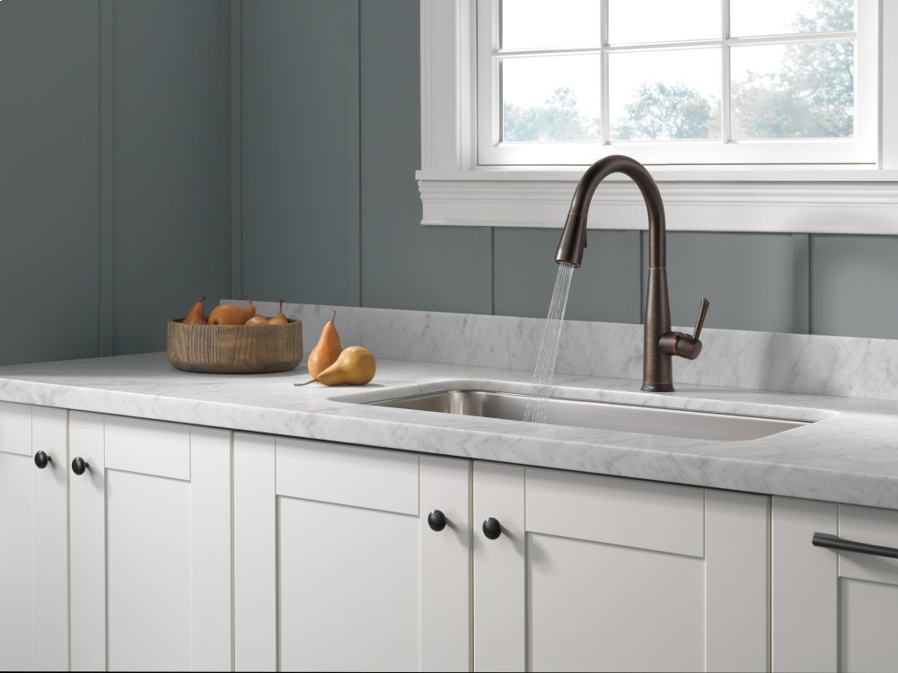 Hidden · Additional Venetian Bronze Single Handle Pull Down Kitchen Faucet  With Touch 2 O ® Technology