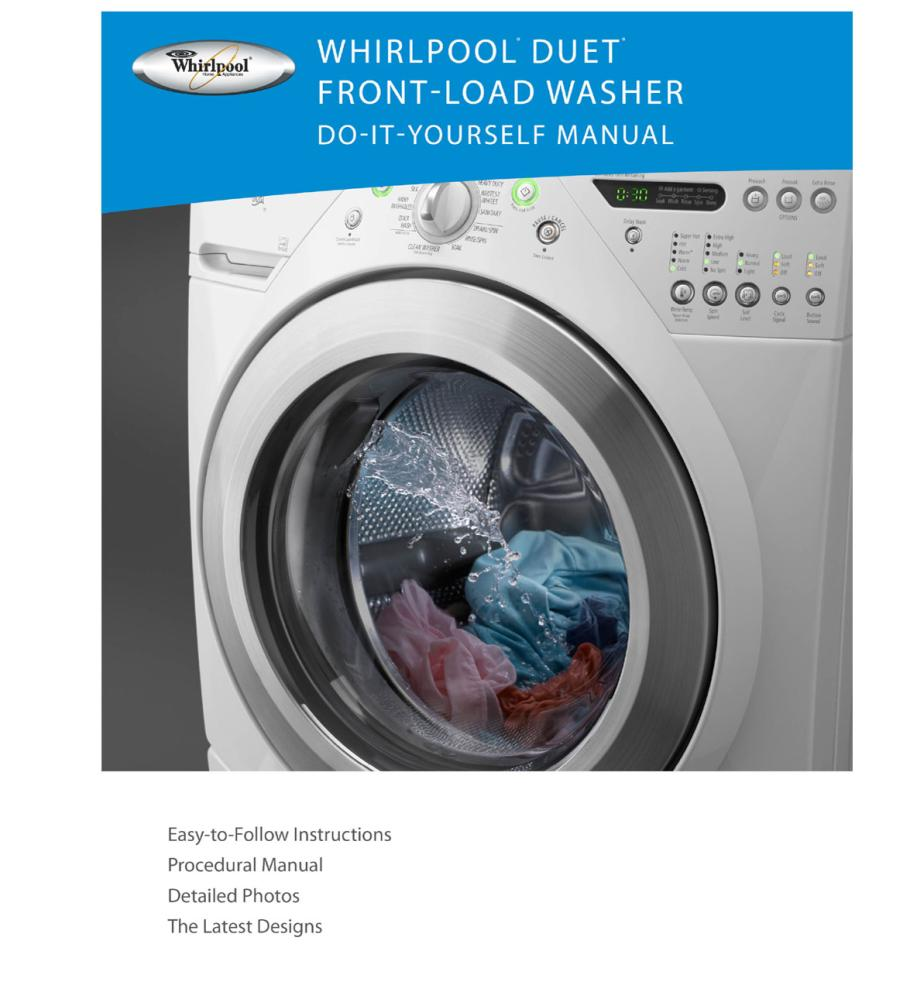 blomberg front load washer manual
