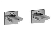Sade/Targa Lavatory Handle Set - Wall-Mounted