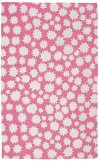Stars Bubblegum Loop Hooked Rugs