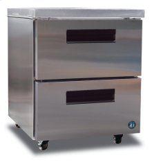 Freezer, Single Section Undercounter with Drawers