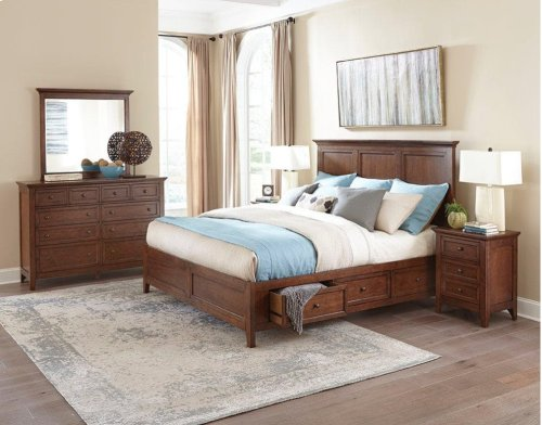 San Mateo Ten Drawer Dresser