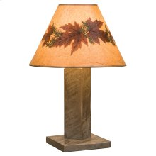 Table Lamp - Driftwood - With shade