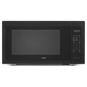 2.2 cu. ft. Countertop Microwave with 1,200-Watt Cooking Power - BLACK