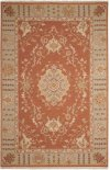 Nourmak S194 Rust Rectangle Rug 5'10'' X 8'10''