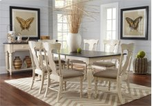 Rectangular Dining Table w/ Leaf