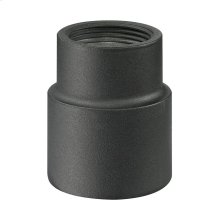 Collection Post connector in charcoal