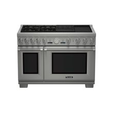 48 inch Professional Series Pro Grand Commercial Depth Dual Fuel Range PRD484NCGC