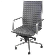 Randy PU Office Chair, Rocky Gray