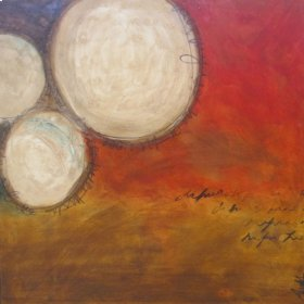 Oil Painting: Drums