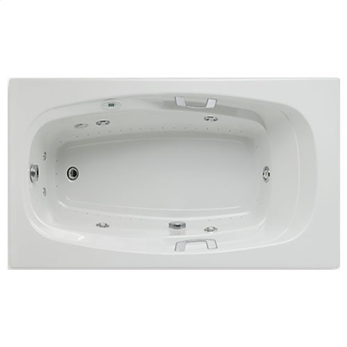 "Easy-Clean High Gloss Acrylic Surface, Rectangular, AirMasseur® - Whirlpool Bathtub, Signature Package, 42"" X 72"""