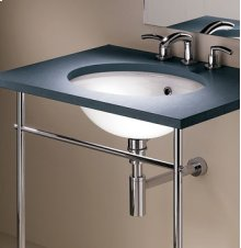 Console Leg with Straight Towel Bar for Stone Counter