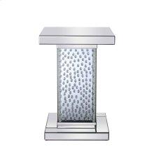 17.5 inch Crystal End Table Clear Royal Cut Crystal