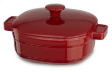 Streamline Cast Iron 3-Quart Casserole - Empire Red
