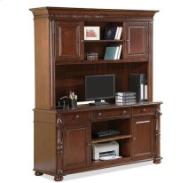 Credenza Hutch Upland Cherry finish